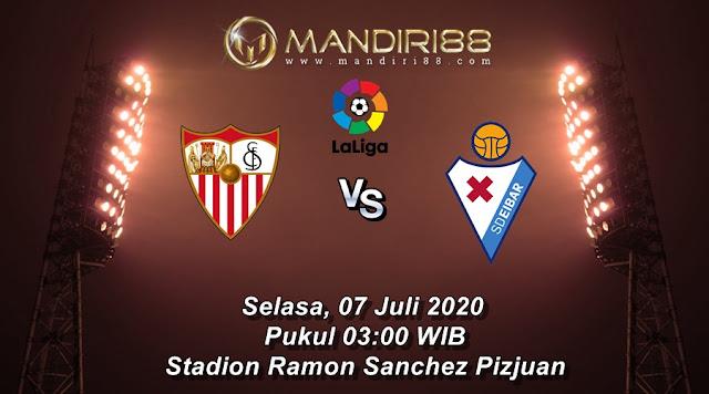 Prediksi Sevilla Vs Eibar, Selasa 07 Juli 2020 Pukul 03.00 WIB