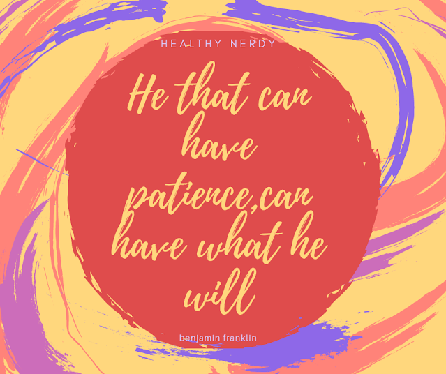 A colourful background with red,yellow,purple pastel colors with the quote written in yellow.