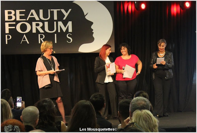 Beauty Forum Awards 2016 - Tenelia - Institut - Blog beauté Les Mousquetettes©