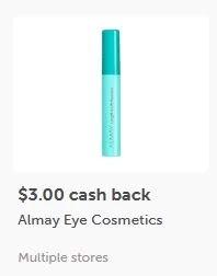 $3.00/1 Almay Eye ibotta CASH BACK Rebate *HERE*