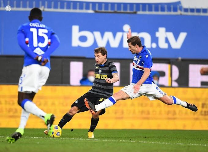 Inter punita dagli ex: la Samp vince 2-1