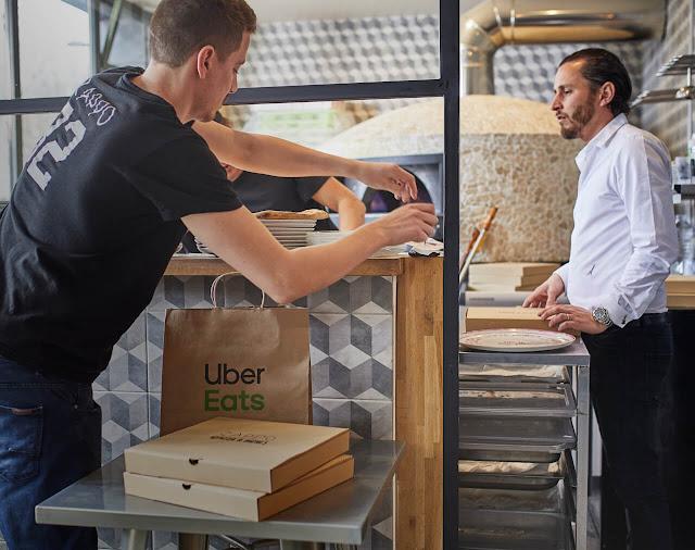 Uber Eats fica disponível 24 horas no centro de Lisboa