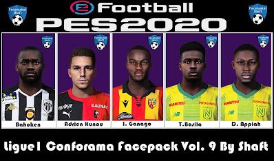 PES 2021 Ligue 1 Conforama Facepack Vol  9 by Shaft