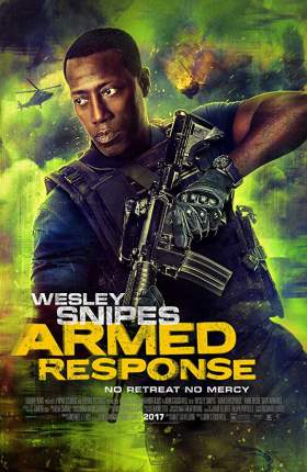 Armed Response 2017 Dual Audio Hindi 300MB BluRay 480p