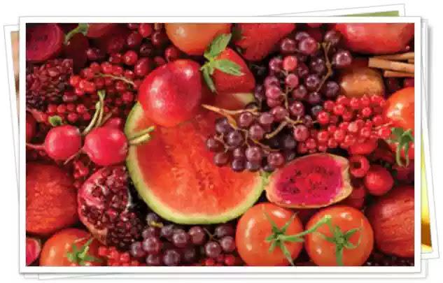 Beneficiile Fructelor si Legumelor ROȘII. Ce conțin Fructele si Legumele ROȘII ca și remedii naturale.