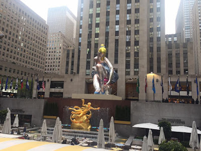 Rockfeller plaza New York city
