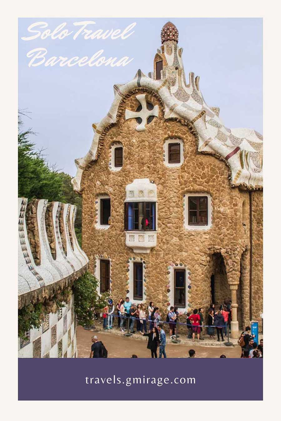 Solo Travel Guide to Barcelona, park guell