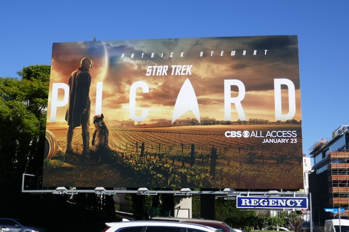 Star Trek Picard series teaser billboard