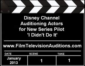 Disney Casting I Didn't Do It