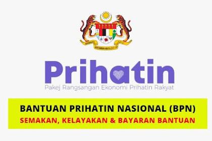 Semakan status penerimaan bantuan Prihatin Nasional (BPN) bermula 1 April 2020