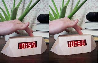 como hacer relojes de madera
