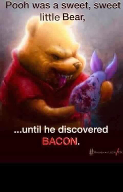Meme de humor sobre Winnie the Pooh