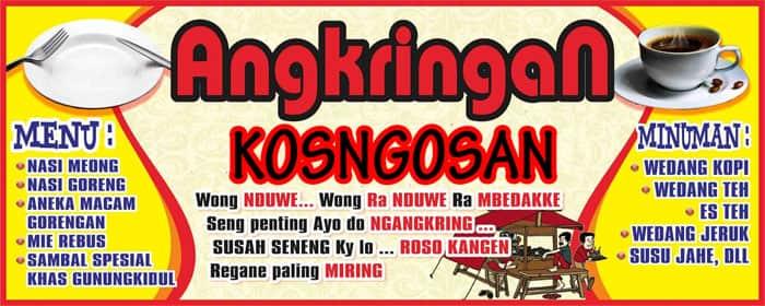 banner angkringan