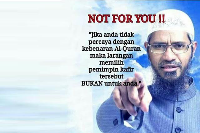 Jika Anda Tidak Percaya Kebenaran Al-Qur`an, Larangan Memilih Pemimpin Kaf**r Bukan untuk Anda