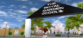 ID The Royal Garden School Di Sakura School Simulator