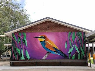 Gundagai Street Art | Mural by Nitsua
