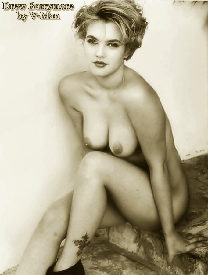 Drew barrymore naked fakes