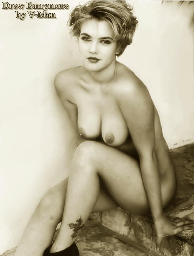 Drew Barrymore Nackt