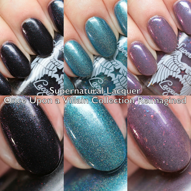 Supernatural Lacquer Once Upon a Villain Collection Reimagined