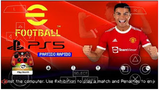 Download eFootball PES 2022 PPSSPP Best Graphics Kits & New Update Faces Transfer