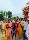 रामधुन समापन पर शोभायात्रा मे श्रद्धालुओ का उमड़ा जन सेलाब