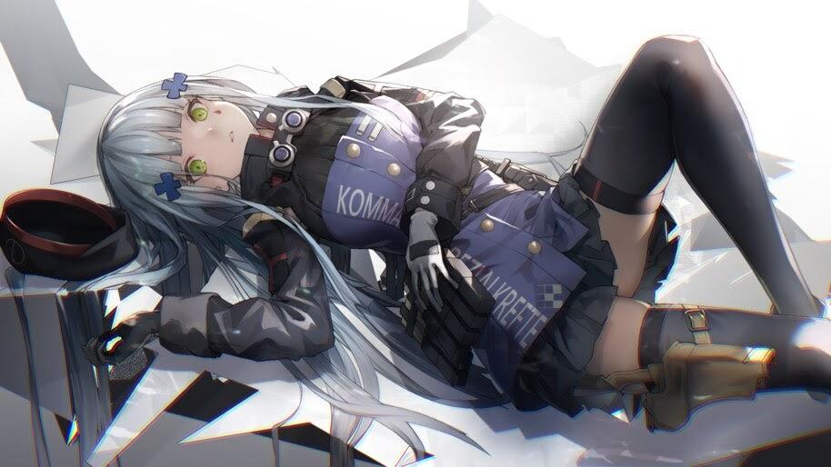 Anime, Girls Frontline, HK416, 4K, #6.1077