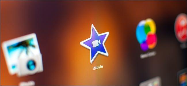 مستخدم iMovie على نظام Mac يعمل على تقليل ضوضاء الخلفية وزيادة الصوت في الفيلم
