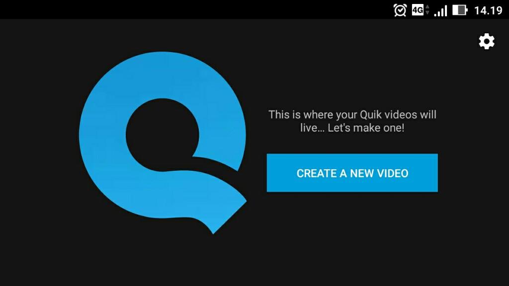 Quik editor video