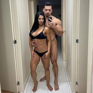 Felipe Franco quebra isolamento social e posta foto nu com Eva Andressa