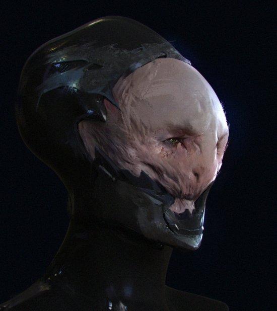 Uros Sljivic artstation arte ilustrações modelos 3D fantasia ficção científica games sombrio
