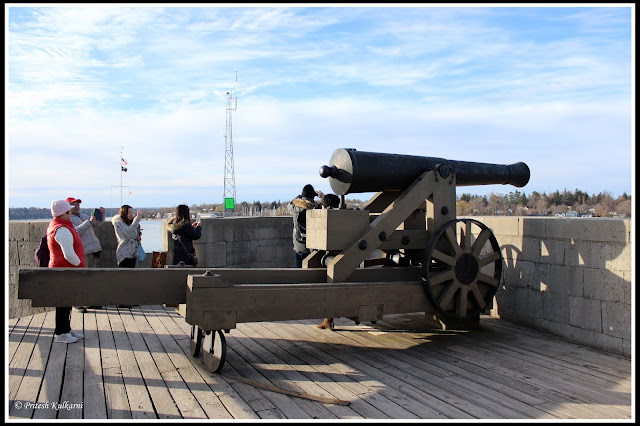 Cannon at Old Fort Niagara