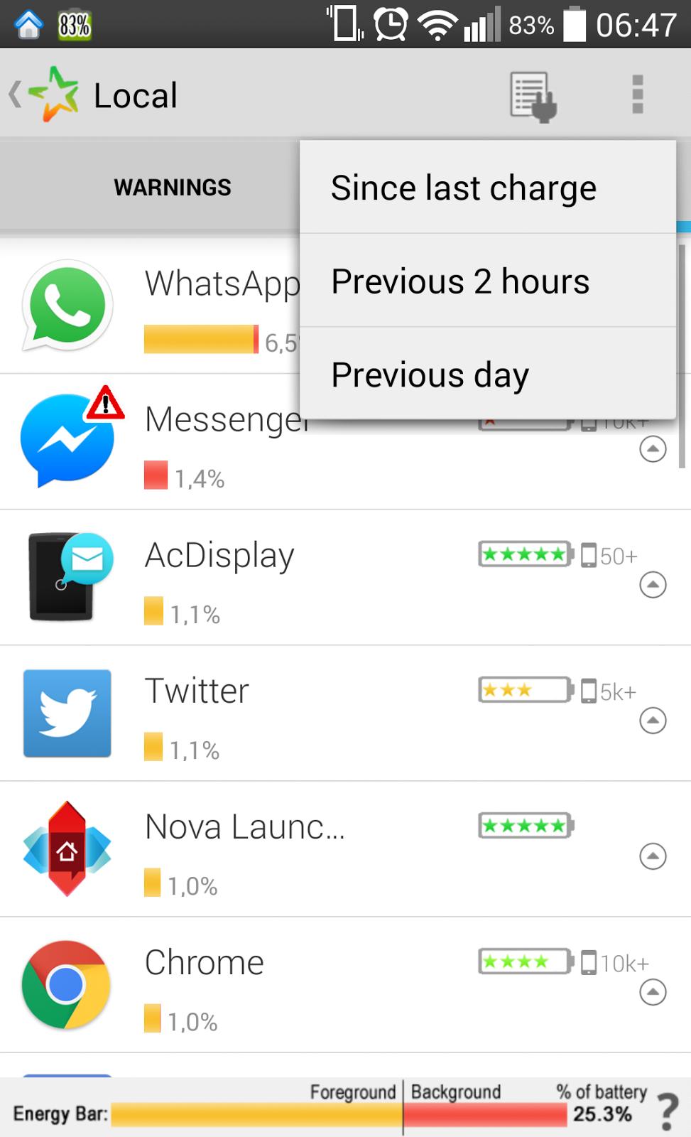 YoAndroideo.com: Estar, app para ahorrar batería en nuestros Androides