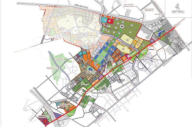 Vị trí và hạ tầng tổng thể khu đô thị Dương Nội.