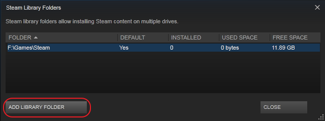 add steam library