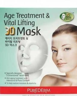 ماسك بيوردرم الجديد مصنوع من ثلاث طبقات anti aging mask