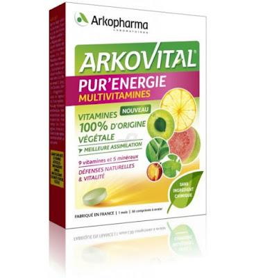 arkopharma arkovital pur'energie purenergie vitamines favoris du moment lucile in wonderland lucileinwonderland