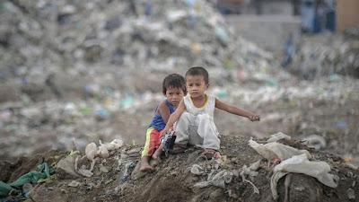Niños y contaminación