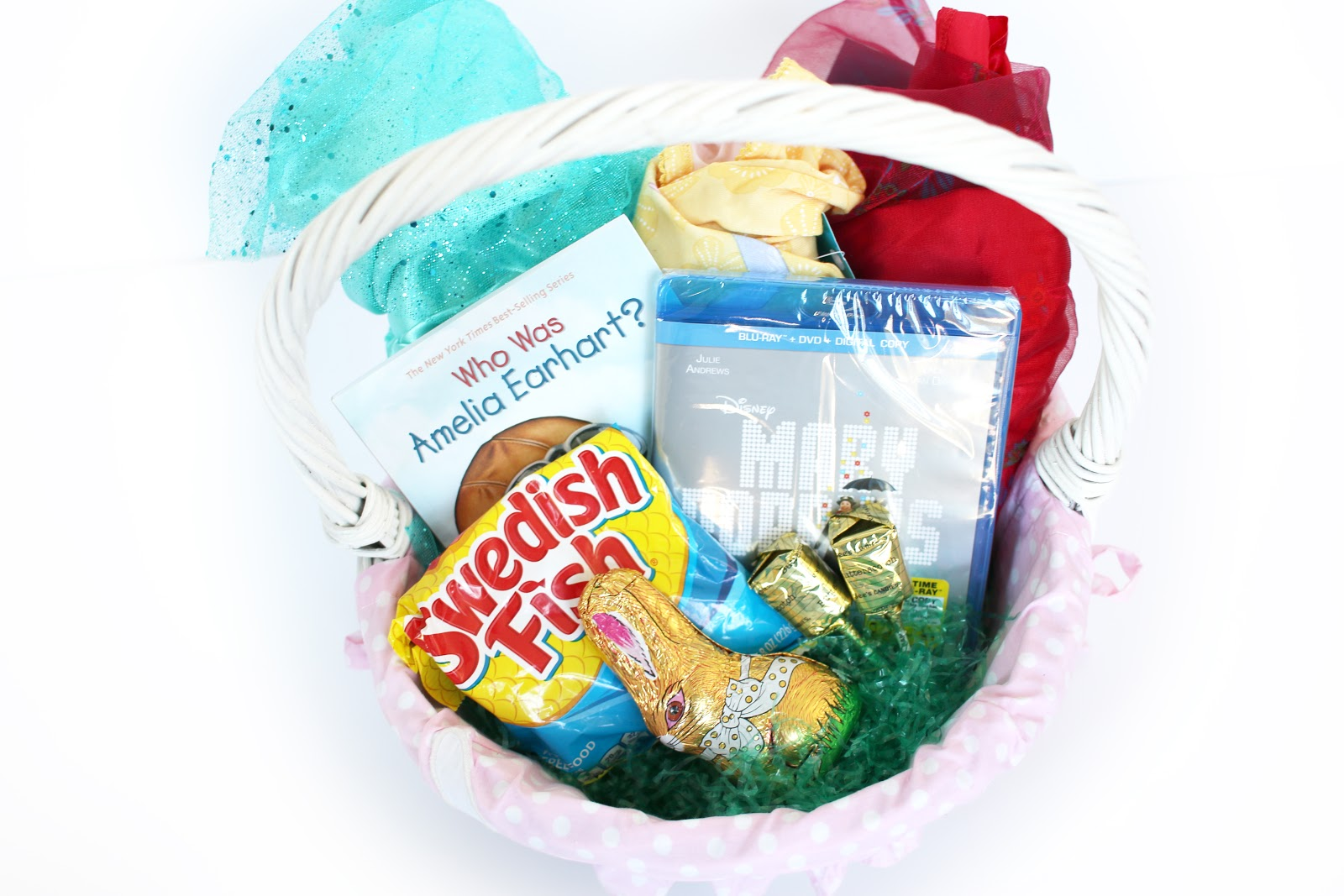 Easter baskets for Swedish fish jelly beans