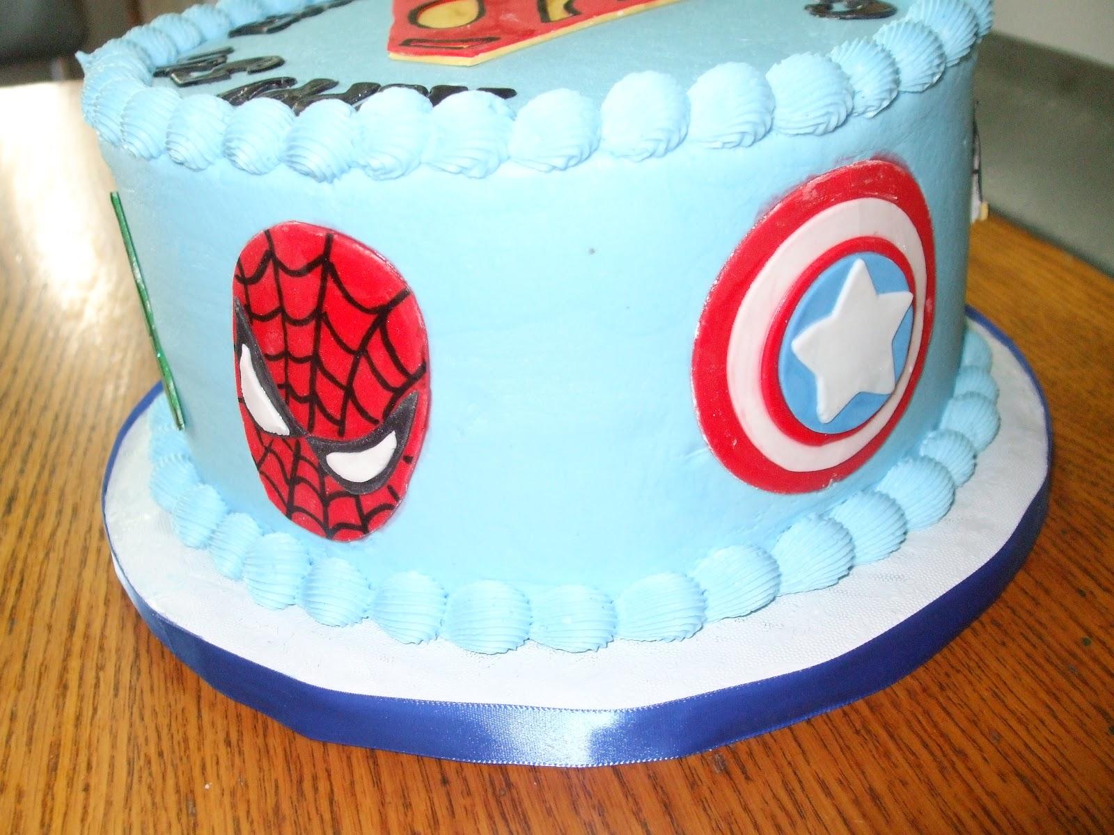 Cakes By Paula Superhero Avengers Theme Cake