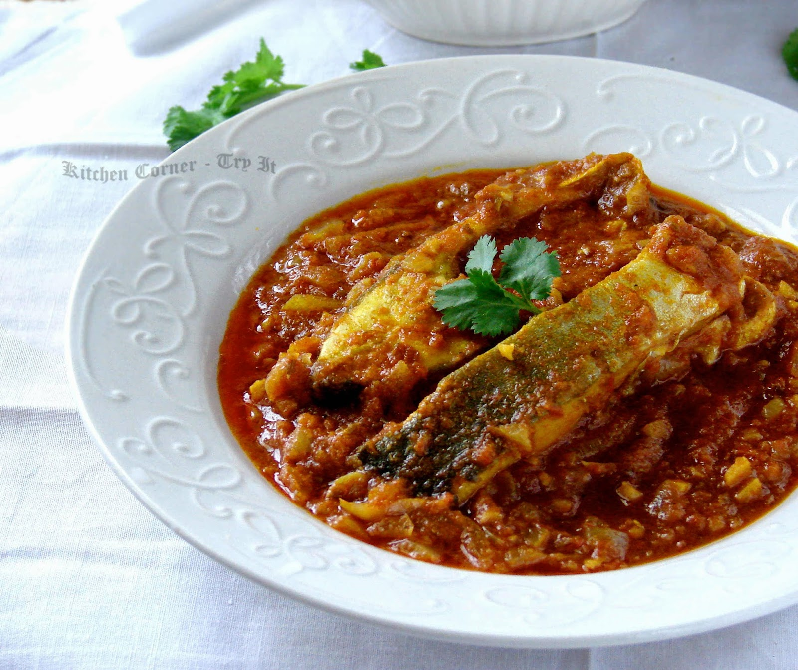 Kitchen Corner-Try It: Fish Curry/Spicy Tomato Gravy