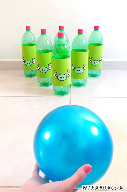 brinquedos garrafa pet