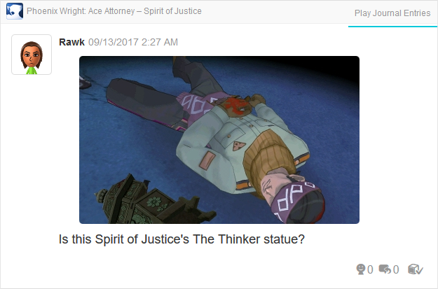 Phoenix Wright Ace Attorney Spirit of Justice Paht Rohl dead
