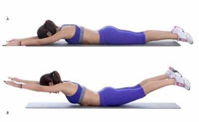 Cara Ltihan Otot Punggung yang Benar