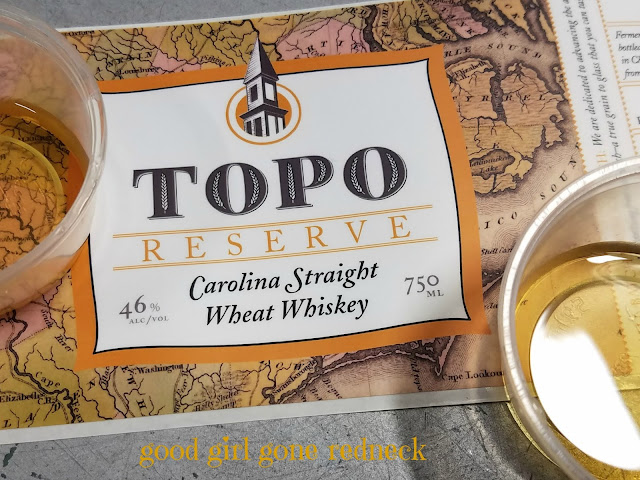 TOPO Organic Distillery, distillery tour, Chapel Hill North Carolina, NC eats, organic spirits, whiskey, whiskey reserve, Carolina Straight Wheat Whiskey