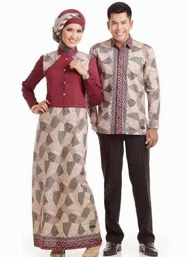 baju batik muslim serimbit