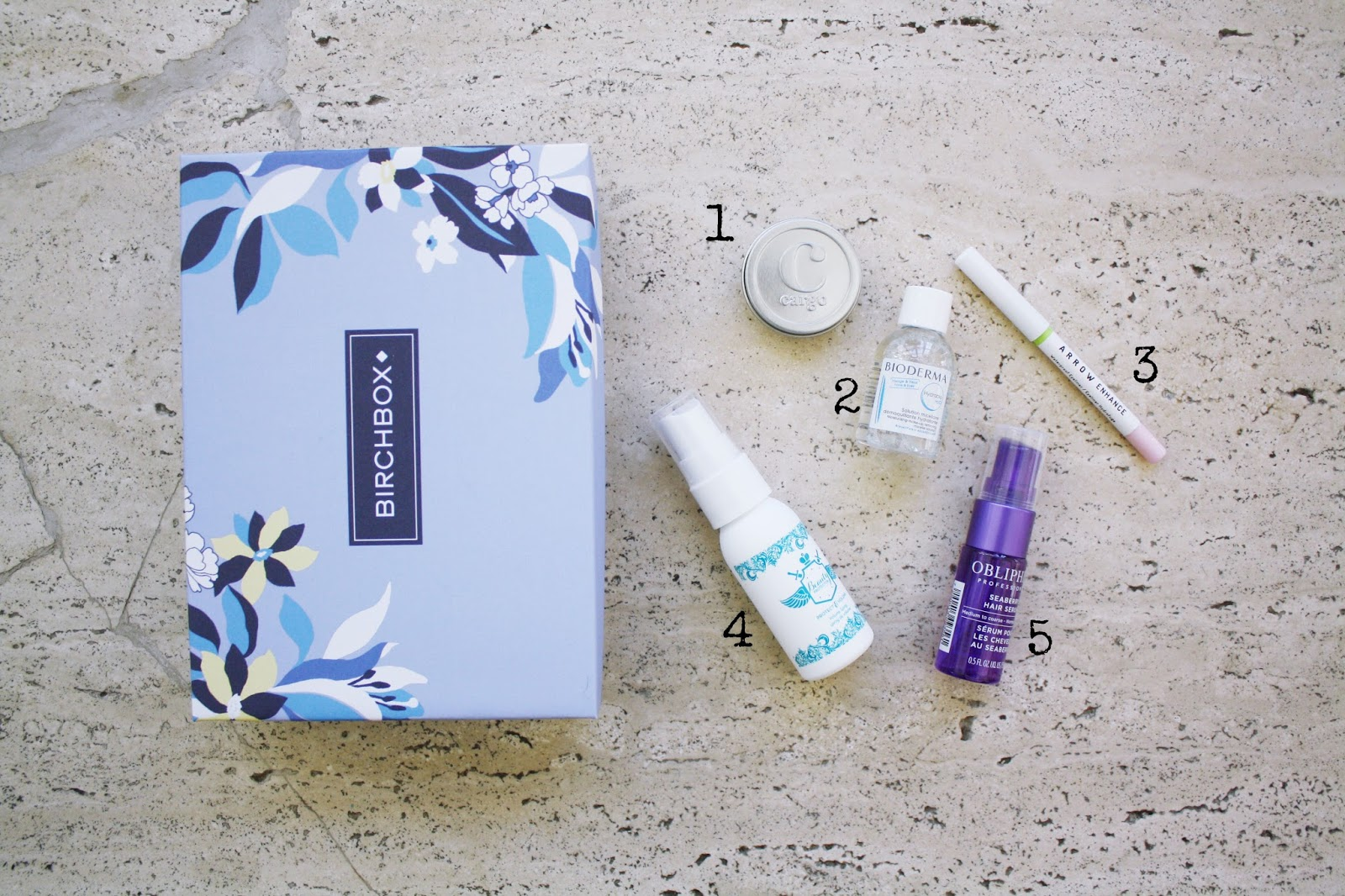 pretty mighty march birchbox