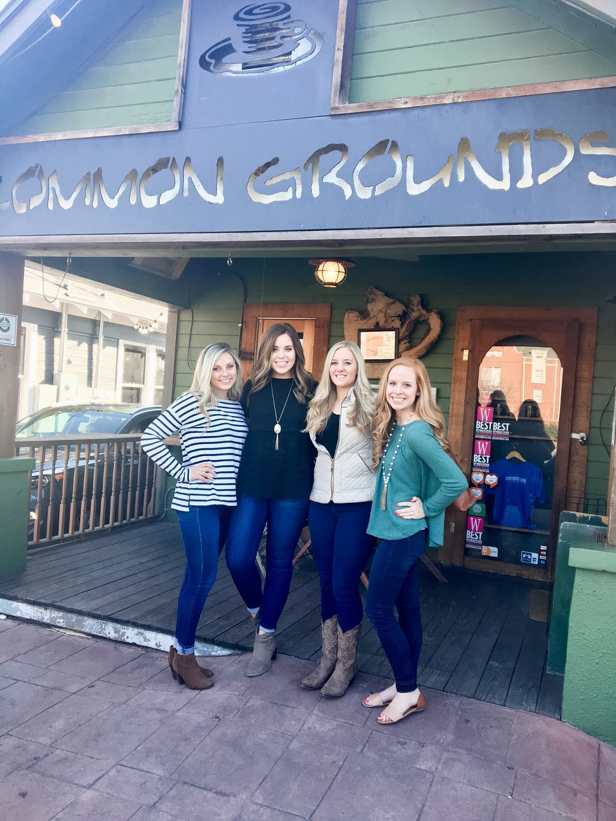Friends at Common Grounds Coffee