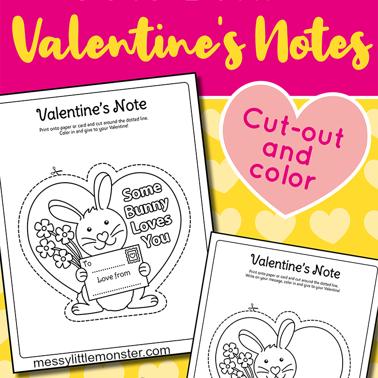 Some Bunny Loves You Printable Valentine Cards