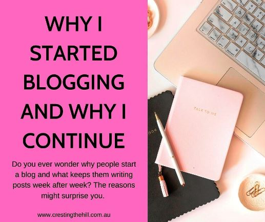 Do you ever wonder why people start a blog and what keeps them writing posts week after week? The reasons might surprise you. #blogging