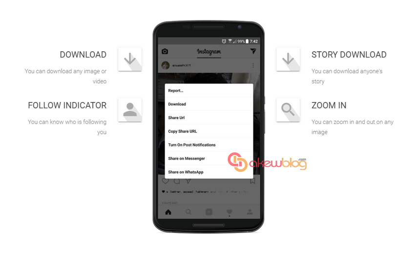 Download Instagram MOD Insta+ and OGInsta+ v10.14.0 Apk